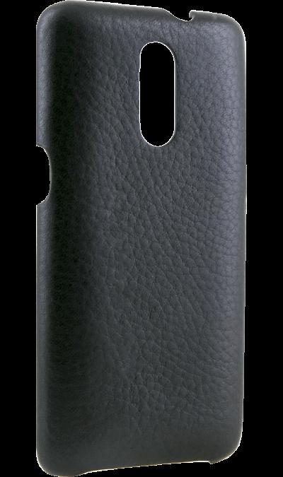Senseit Чехол-крышка Senseit для Senseit T250, кожзам, черный смартфон senseit t250 black