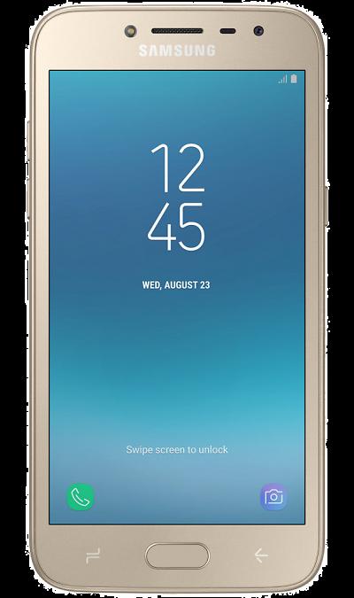 Смартфон Samsung Galaxy J2 (2018) Gold (золотистый)Смартфоны<br>2G, 3G, 4G, Wi-Fi; ОС Android; Дисплей сенсорный емкостный 16,7 млн цв. 5; Камера 8 Mpix, AF; Разъем для карт памяти; MP3, FM,  BEIDOU / GPS / ГЛОНАСС; 18.0 ч.; Вес 153 г.<br><br>Colour: Золотистый