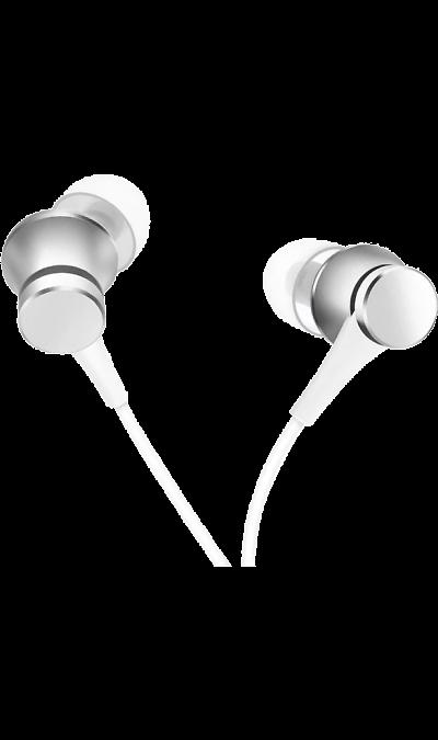 Проводная гарнитура Xiaomi Mi In-Ear Basic, стерео (серебристая)