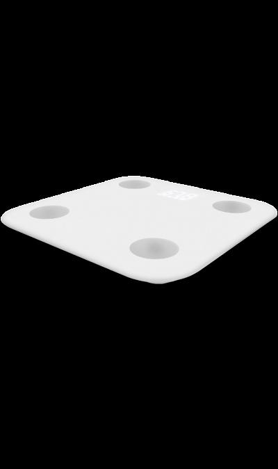Весы беспроводные Xiaomi Mi Body Comp Scale WhiteУстройства для здоровья<br>Диапазон взвешивания: 5 кг - 150 кг;<br>Точность: до 50 г;<br>Единицы измерения веса: кг/фунт;<br>Работают от 4 ААА батареек;<br>Измерение веса и индекса массы тела (ИМТ), соотношения жира и мышечной массы;<br>Собирают статистику и отслеживают результаты.<br><br>Mi Body Composition Scale - умные весы измеряющие 10 показателей вашего тела. Подключите их к вашему смартфону и получайте расширенную статистику о состоянии вашего тела. Кроме того они имеют удивительный дизайн. У них ...<br>