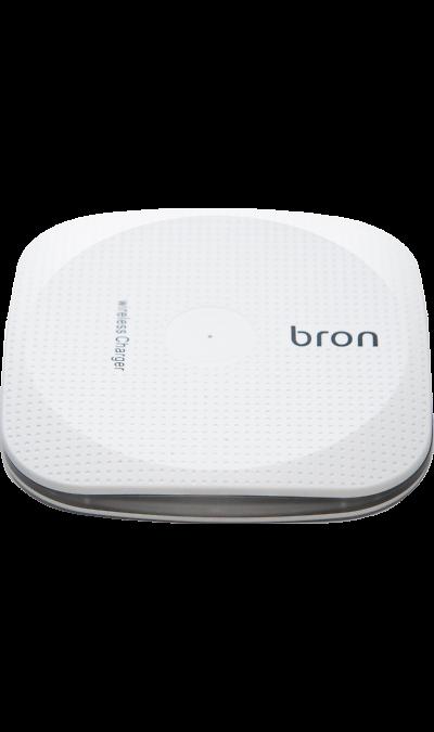 Зарядное устройство беспроводное Bron WCH01 (белое)Зарядные устройства<br>Беспроводное зарядное устройство Bron предназначено для зарядки аккумуляторов смартфонов, имеющих функцию беспроводной зарядки. Совместимо с мобильными телефонами и другими электронными устройствами с универсальным стандартом беспроводной зарядки QI. <br>Функция быстрой зарядки позволяет сильно увеличить скорость зарядки для смартфонов, поддерживающих данную функцию (для работы быстрой зарядки необходимо использовать сетевые зарядные устройства стандарта QC 2.0 либо QC 3.0)<br><br>Colour: Белый