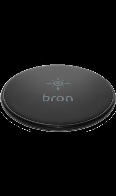 Зарядное устройство беспроводное Bron WCH02 (черное)Зарядные устройства<br>Беспроводное зарядное устройство Bron предназначено для зарядки аккумуляторов смартфонов, имеющих функцию беспроводной зарядки. Совместимо с мобильными телефонами и другими электронными устройствами с универсальным стандартом беспроводной зарядки QI. <br>Функция быстрой зарядки позволяет сильно увеличить скорость зарядки для смартфонов, поддерживающих данную функцию (для работы быстрой зарядки необходимо использовать сетевые зарядные устройства стандарта QC 2.0 либо QC 3.0)<br><br>Colour: Черный