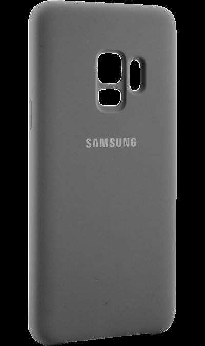 Чехол-крышка Samsung для Galaxy S9, силикон, серыйЧехлы и сумочки<br>Чехол поможет не только защитить ваш смартфон от повреждений, но и сделает обращение с ним более удобным, а сам аппарат будет выглядеть еще более элегантным.<br><br>Colour: Серый