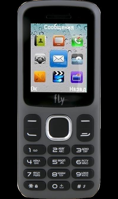 Телефон Fly FF180 GrayТелефоны<br>2G; Разъем для карт памяти; MP3, FM; Время работы 200 ч. / 4.0 ч.; Вес 70 г.<br><br>Colour: Серый