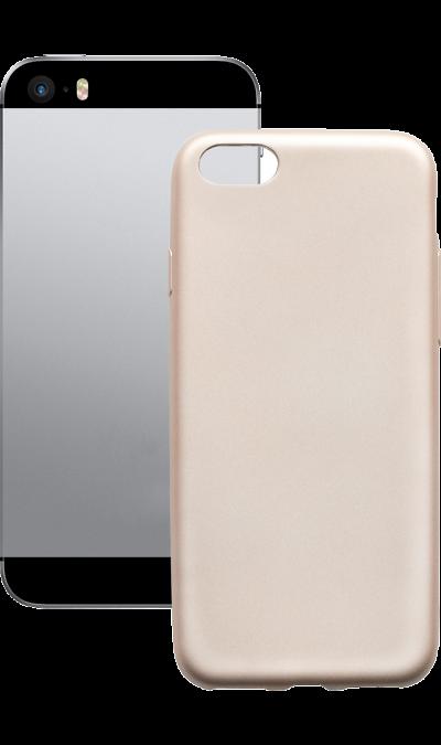 Gresso Чехол-крышка Gresso Neo для Apple iPhone 5/5s, пластик, золотистый neo