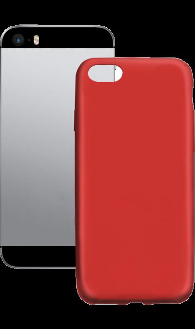 Gresso Чехол-крышка Gresso Neo для Apple iPhone 5/5s, пластик, красный чехол для iphone 5 глянцевый с полной запечаткой printio ember spirit dota 2