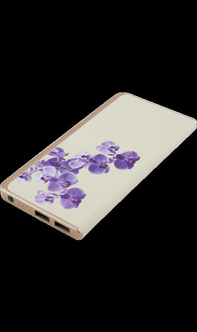 Аккумулятор Inter-Step Power Bank Орхидея, Li-Pol, 6000 мАч (портативный)