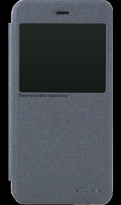 Nillkin Чехол-книжка Nillkin для Xiaomi Redmi Note 5A, полиуретан, серый (с окошком)