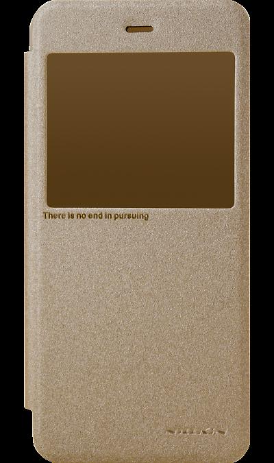 Nillkin Чехол-книжка Nillkin для Xiaomi Redmi Note 5A, полиуретан, золотистый (с окошком)