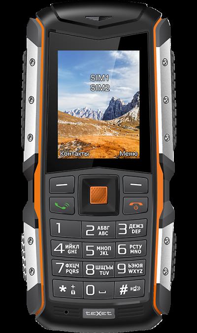 Телефон teXet TM-513RТелефоны<br>2G; Дисплей 65,5 тыс цв. 2; Камера 2 Mpix; Разъем для карт памяти; MP3, FM; Повышенная защита корпуса; Вес 168 г.<br><br>Colour: Черный