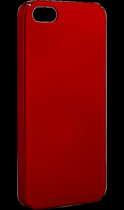 New Level Чехол-крышка New Level для Apple iPhone 5/5s, пластик, красный new year s eve level 4