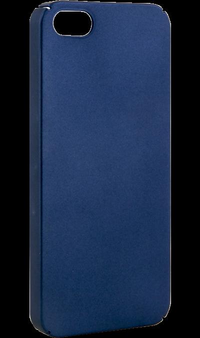 New Level Чехол-крышка New Level для Apple iPhone 5/5s, пластик, синий new year s eve level 4