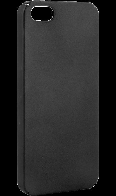 New Level Чехол-крышка New Level для Apple iPhone 5/5s, пластик, черный чехол для iphone 5 глянцевый с полной запечаткой printio ember spirit dota 2