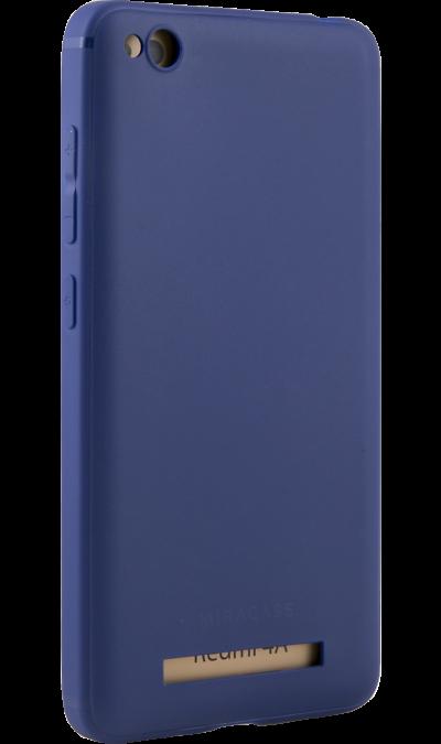 Чехол-крышка Miracase 8016 для  Xiaomi 4A, полиуретан, синийЧехлы и сумочки<br>Чехол Miracase поможет не только защитить ваш смартфон от повреждений, но и сделает обращение с ним более удобным, а сам аппарат будет выглядеть еще более элегантным.<br><br>Colour: Синий