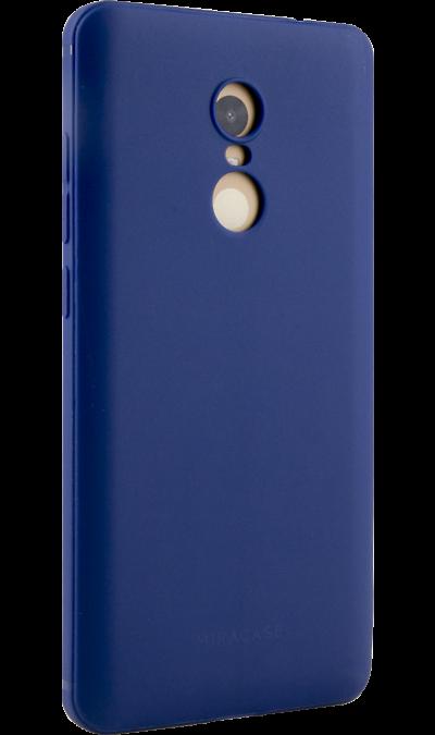 Чехол-крышка Miracase 8016 для  Xiaomi Note 4, полиуретан, синийЧехлы и сумочки<br>Чехол Miracase поможет не только защитить ваш смартфон от повреждений, но и сделает обращение с ним более удобным, а сам аппарат будет выглядеть еще более элегантным.<br><br>Colour: Синий
