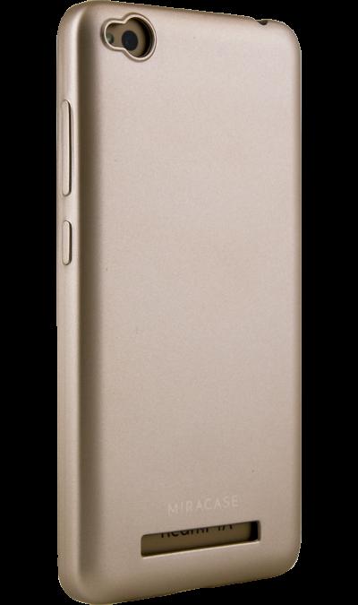 Miracase Чехол-крышка Miracase 8019 для Xiaomi 4A, полиуретан, золотистый