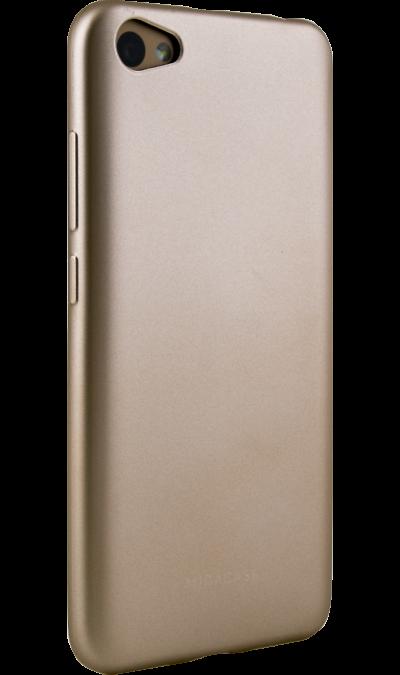 Чехол-крышка Miracase 8019 для  Xiaomi Note 5A, полиуретан, золотистыйЧехлы и сумочки<br>Чехол Miracase поможет не только защитить ваш смартфон от повреждений, но и сделает обращение с ним более удобным, а сам аппарат будет выглядеть еще более элегантным.<br><br>Colour: Золотистый