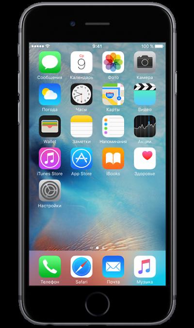 Apple Apple iPhone 6s как новый 16GB Space Gray телефон apple iphone 6s 128gb a1688 space gray