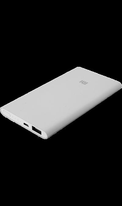 Аккумулятор Xiaomi, Li-Pol, 5000 мАч, серебристый (портативный)