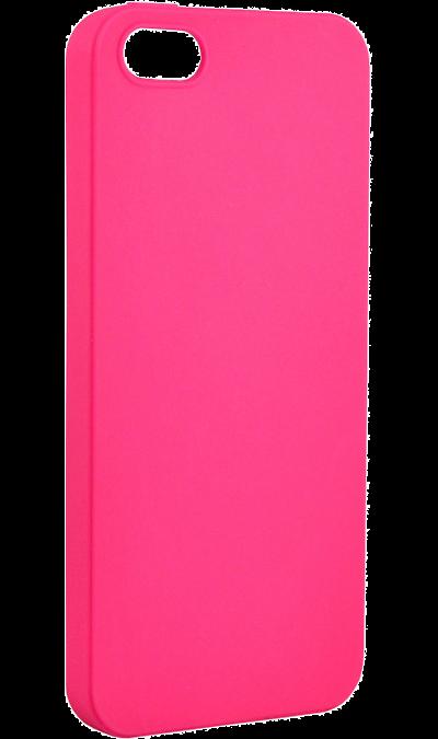 New Level Чехол-крышка New Level Rubber для Apple iPhone 5/5s, пластик, розовый jane eyre level 5 cd