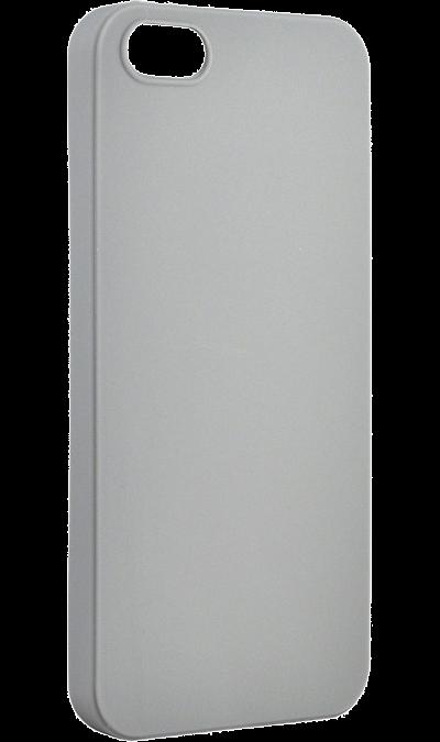 Чехол-крышка New Level Rubber для Apple iPhone 5/5s, пластик, серыйЧехлы и сумочки<br>Чехол New Level поможет не только защитить ваш для Apple iPhone 5/5s от повреждений, но и сделает обращение с ним более удобным, а сам аппарат будет выглядеть еще более элегантным.<br><br>Colour: Серый