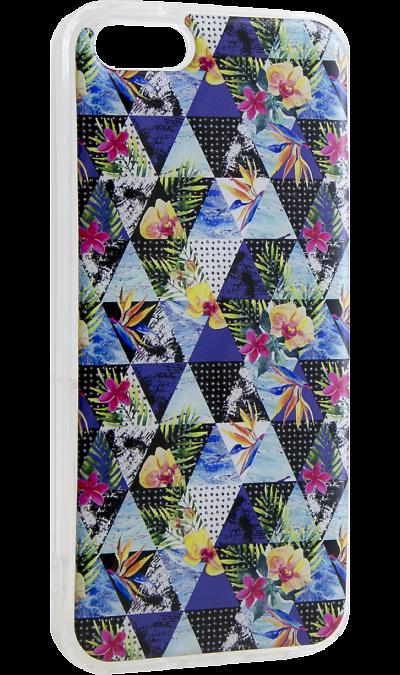 Ice Twice Чехол-крышка Ice Twice для Apple iPhone 5/5s, силикон, абстракция чехол для iphone 5 глянцевый с полной запечаткой printio ember spirit dota 2
