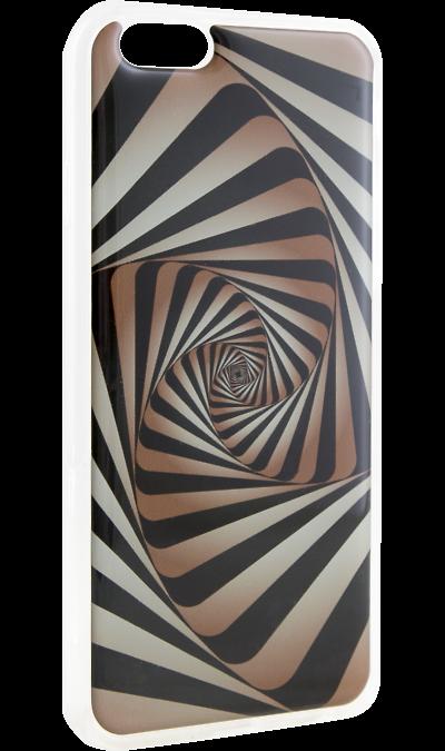 Ice Twice Чехол-крышка Ice Twice для Apple iPhone 6/6S, силикон, геометрия ice twice чехол крышка ice twice города для apple iphone 6 6s силикон