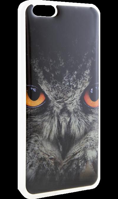 Ice Twice Чехол-крышка Ice Twice для Apple iPhone 6/6S, силикон, сова twice