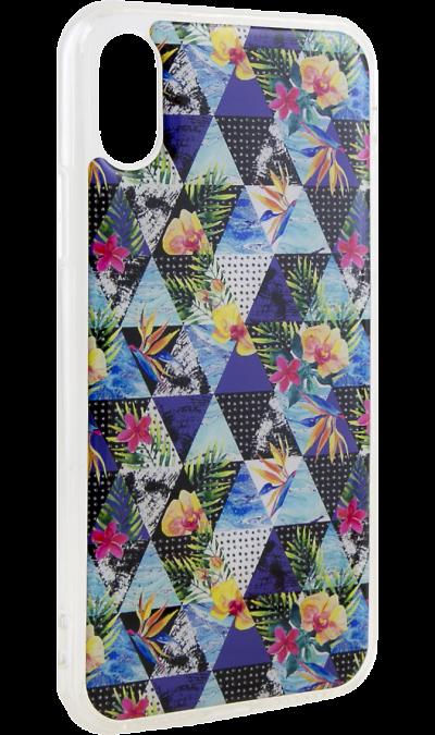 Ice Twice Чехол-крышка Ice Twice для Apple iPhone X, силикон, абстракция twice