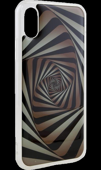 Ice Twice Чехол-крышка Ice Twice для Apple iPhone X, силикон, геометрия twice