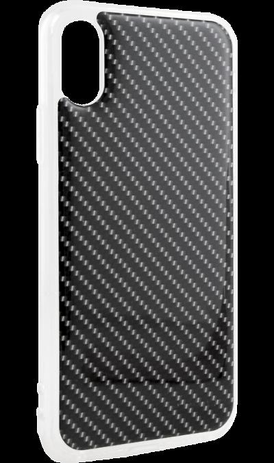Ice Twice Чехол-крышка Ice Twice для Apple iPhone X, силикон, карбон twice