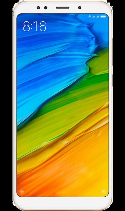 Смартфон Xiaomi Redmi 5 Plus 4/64GB Gold (золотистый)Смартфоны<br>2G, 3G, 4G, Wi-Fi; ОС Android; Дисплей сенсорный 16,7 млн цв. 5.99; Камера 12 Mpix, AF; Разъем для карт памяти; MP3, FM,  BEIDOU / GPS / ГЛОНАСС; Вес 180 г.<br><br>Colour: Золотистый