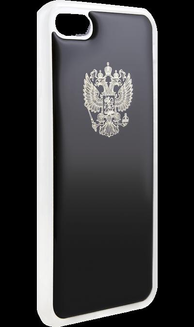Ice Twice Чехол-крышка Ice Twice 402 для Apple iPhone 7, силикон, Золотой герб twice