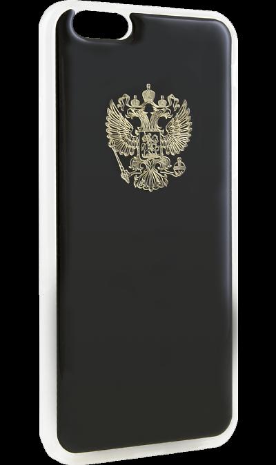 Ice Twice Чехол-крышка Ice Twice 402 для Apple iPhone 6, силикон, Золотой герб twice