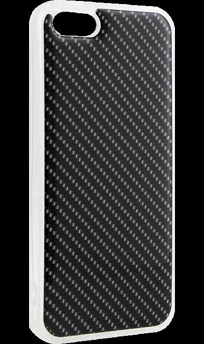 Ice Twice Чехол-крышка Ice Twice 1189 для Apple iPhone 5, силикон, карбон twice