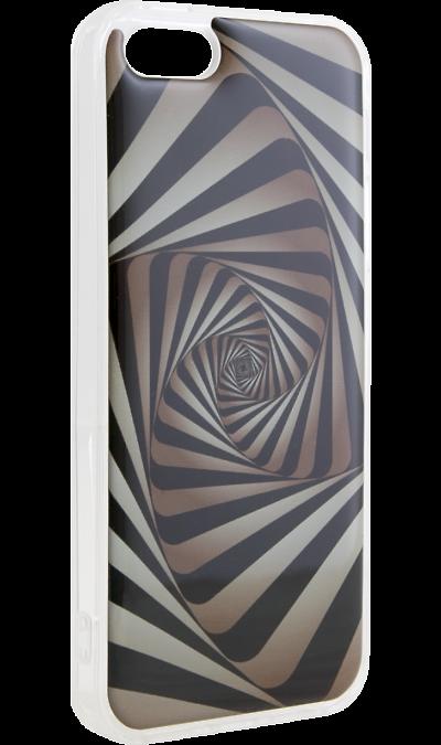 Ice Twice Чехол-крышка Ice Twice 1180 для Apple iPhone 5, силикон, геометрия twice
