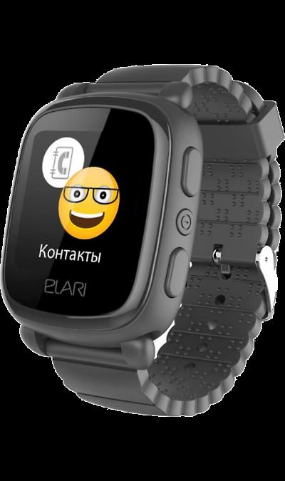 Часы Elari KidPhone 2 Black (Черный) фото
