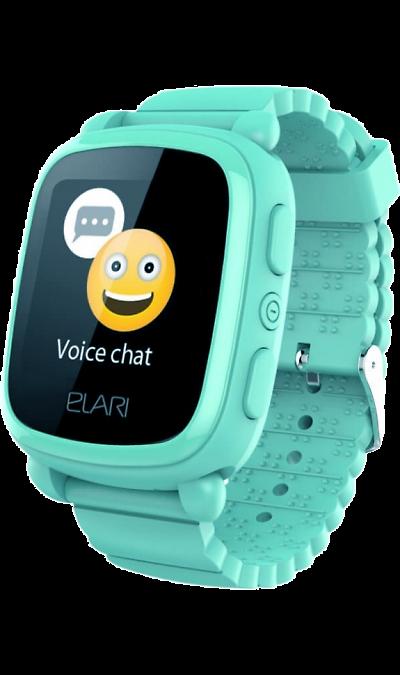 Elari Часы Elari KidPhone 2 Green (зеленый) сотовый телефон elari cardphone black