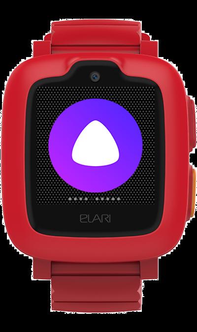 Часы Elari KidPhone 3G Красные