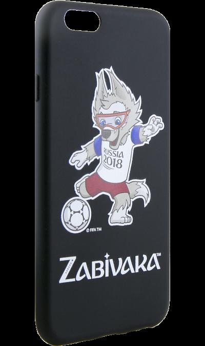 Deppa Чехол-крышка Deppa FIFA Забивака 2 для Apple iPhone 6/6S, полиуретан, черный deppa fifa забивака 2 чехол для apple iphone 6 6s black