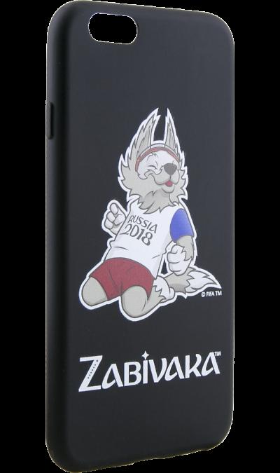 Deppa Чехол-крышка Deppa FIFA Забивака 3 для Apple iPhone 6/6S, полиуретан, черный deppa fifa забивака 2 чехол для apple iphone 6 6s black