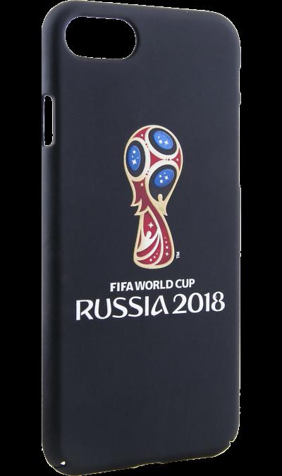 Deppa Чехол-крышка Deppa FIFA Эмблема для Apple iPhone 7/8, полиуретан, цветной deppa fifa забивака 2 чехол для apple iphone 6 6s black