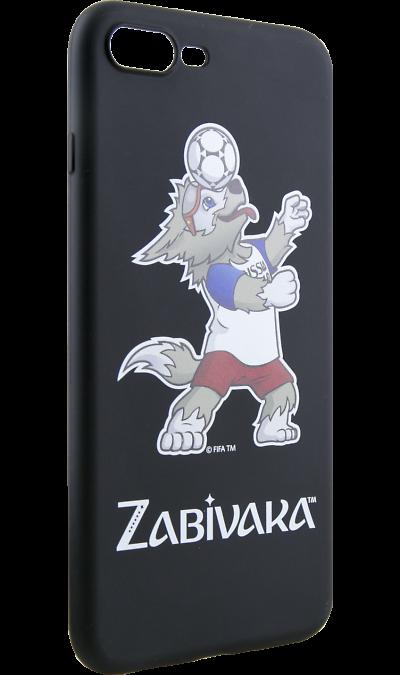 Deppa Чехол-крышка Deppa FIFA Забивака 1 для Apple iPhone 7 Plus/8 Plus, полиуретан, черный deppa fifa забивака 2 чехол для apple iphone 6 6s black