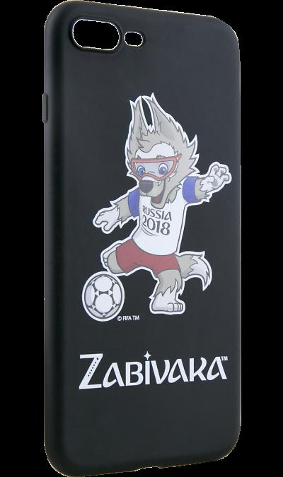 Deppa Чехол-крышка Deppa FIFA Забивака 2 для Apple iPhone 7 Plus/8 Plus, полиуретан, черный deppa fifa забивака 2 чехол для apple iphone 6 6s black
