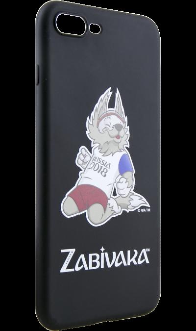 Deppa Чехол-крышка Deppa FIFA Забивака 3 для Apple iPhone 7 Plus/8 Plus, полиуретан, черный deppa fifa забивака 2 чехол для apple iphone 6 6s black