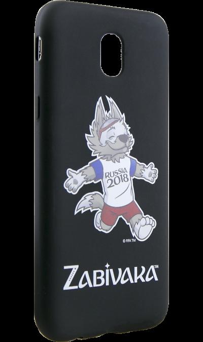 Deppa Чехол-крышка Deppa FIFA Забивака 4 для Samsung Galaxy J5 (2017), полиуретан, черный чехол для для мобильных телефонов rcd 4 samsung 4 for samsung galaxy note 4 iv