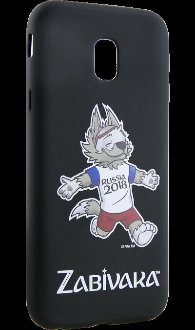 Deppa Чехол-крышка Deppa FIFA Забивака 4 для Samsung Galaxy A5 (2017), полиуретан, черный чехол для для мобильных телефонов rcd 4 samsung 4 for samsung galaxy note 4 iv