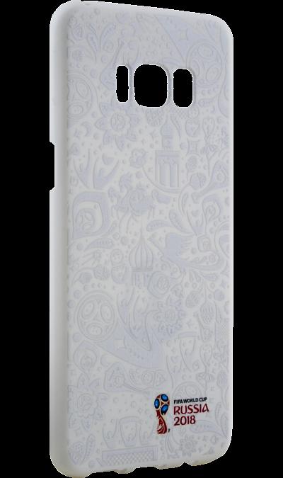 Deppa Чехол-крышка Deppa FIFA для Samsung Galaxy S8, полиуретан, белый чехол deppa art case и защитная пленка для samsung galaxy s6 патриот крым ваш