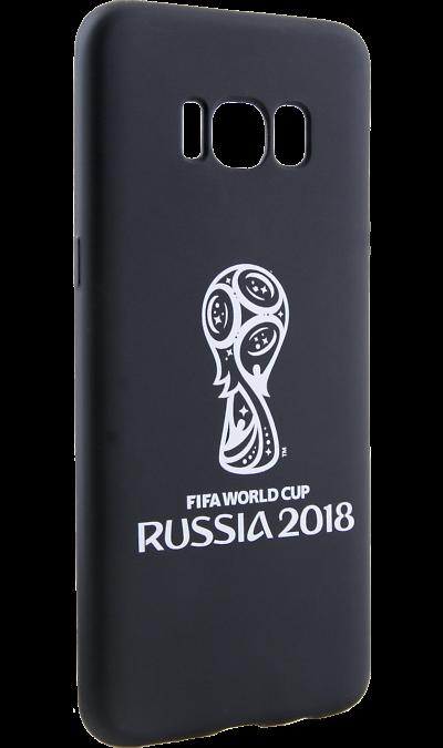 Deppa Чехол-крышка Deppa FIFA Эмблема для Samsung Galaxy S8, полиуретан, черный чехол deppa art case и защитная пленка для samsung galaxy s6 патриот крым ваш