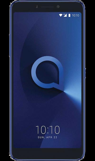 Alcatel Alcatel 3V 5099D Blue alcatel alcatel 3v 5099d black